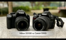Canon 550D vs Nikon D3100 – video comparison