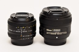 Nikon 50mm f/1.8G AF-S vs 50mm f/1.8D video