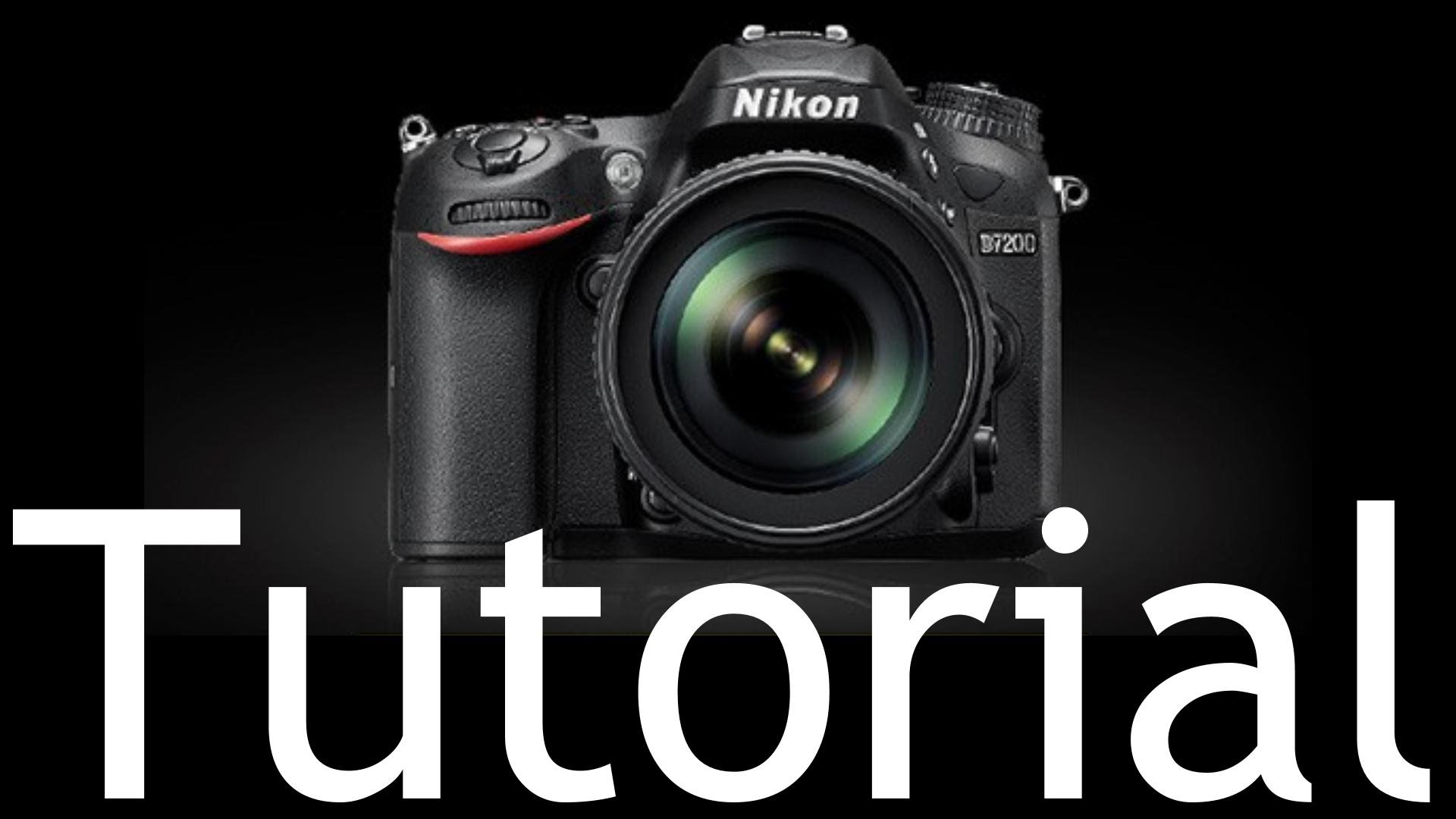 Nikon D7200 Tutorial –  using the Nikon D7200 DSLR Camera